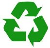 Eco-friendly packaging symbol