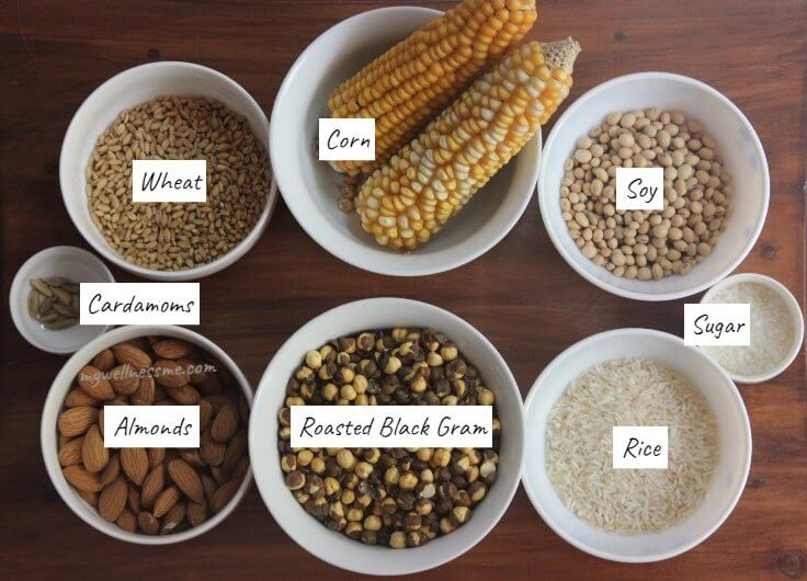 Sattu recipe ingredients